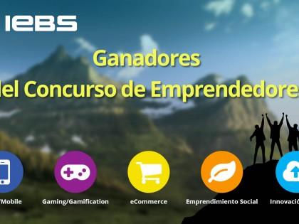 Ganadores del Concurso de Emprendedores IEBS'15